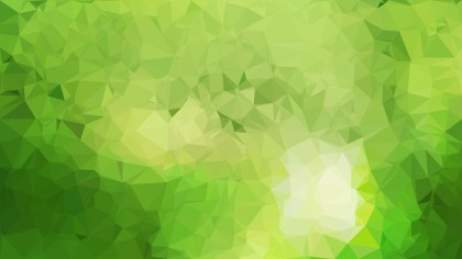 Green Polygonal Background Image