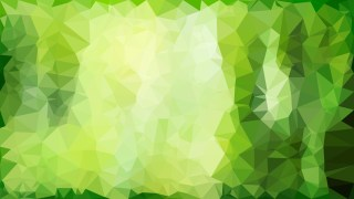 Green Polygonal Triangle Background Illustrator