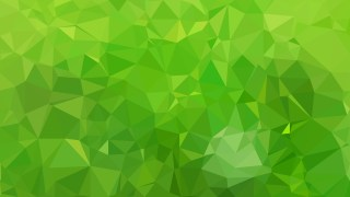 Abstract Green Polygon Background Vector