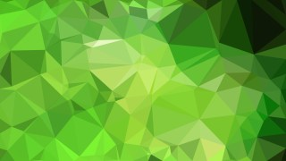 Green Polygon Background Design