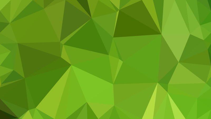 Abstract Green Polygon Background Graphic Design
