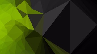 Green and Black Polygon Background Graphic Design Vector Art