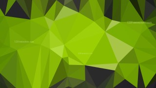 Green and Black Low Poly Background Design Graphic