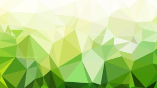 Green and White Polygon Triangle Background Vector Image