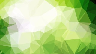 Abstract Green and White Polygon Background Template Graphic