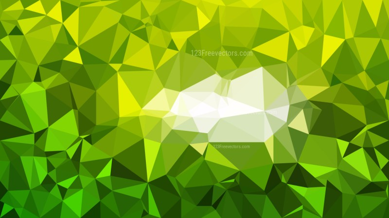 Green and Yellow Polygon Background Graphic Design