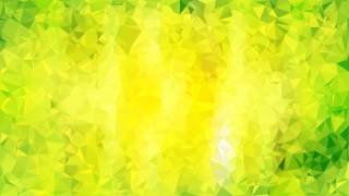Green and Yellow Polygon Pattern Abstract Background
