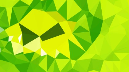 Green and Yellow Polygonal Background Design