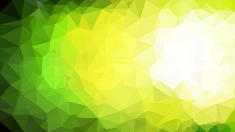 Green Black and White Polygonal Abstract Background