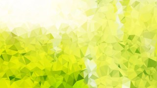 Green Yellow and White Polygon Background Design
