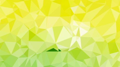 Green Yellow and White Low Poly Background Design