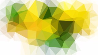 Green Yellow and White Polygonal Abstract Background Design
