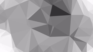 Gray Polygonal Background Template Vector Graphic