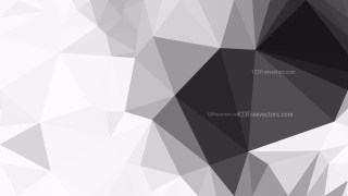 Grey and White Polygonal Background Template