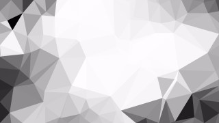 Abstract Grey and White Polygon Background Graphic Design Image