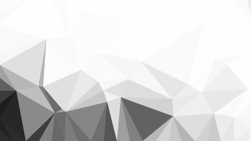Abstract Grey and White Low Poly Background Design Vector Graphic