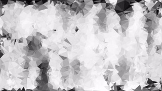 Grey and White Polygon Background