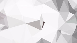 Grey and White Polygon Pattern Background
