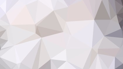 Abstract Grey and White Polygon Pattern Background Illustration
