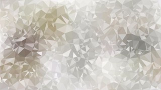 Abstract Grey and White Low Poly Background Image