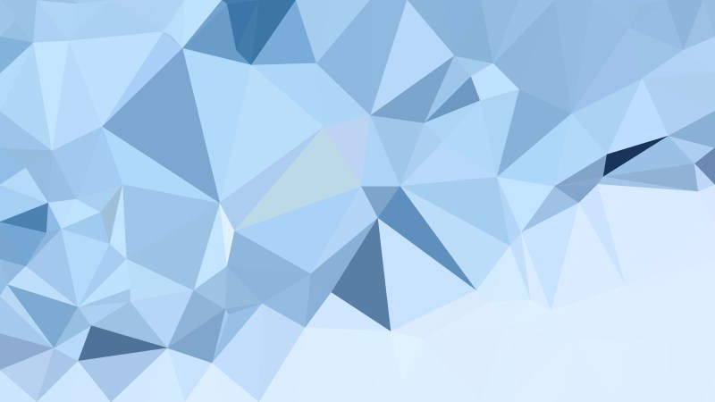 Light Blue Polygon Pattern Abstract Background