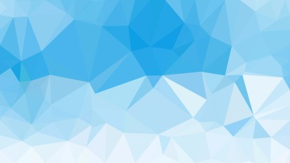Light Blue Polygon Background