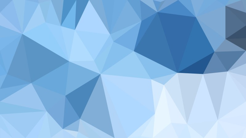 Abstract Light Blue Triangle Geometric Background