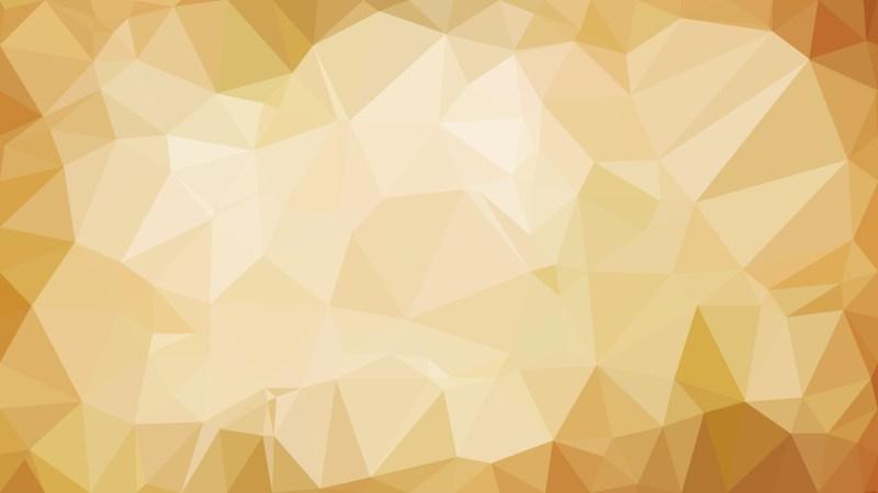 Light Brown Polygon Pattern Background Illustration