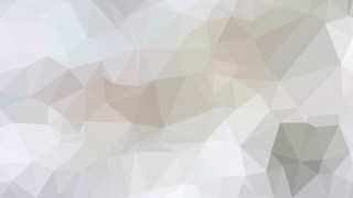 Light Grey Polygonal Triangular Background Vector Art