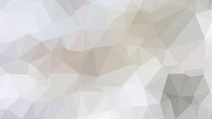 Light Grey Polygonal Triangular Background Vector Art