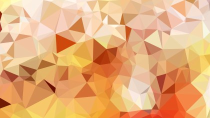 Abstract Light Orange Polygon Pattern Background