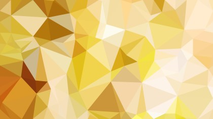 Light Orange Polygonal Triangular Background Vector Art