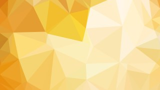 Abstract Light Orange Low Poly Background Design Illustrator