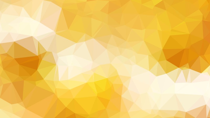Light Orange Low Poly Abstract Background Design Vector