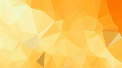 Light Orange Low Poly Background Design Vector