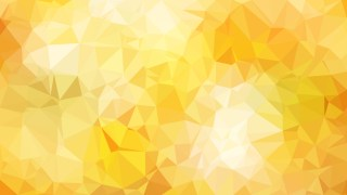 Abstract Light Orange Polygonal Background Template