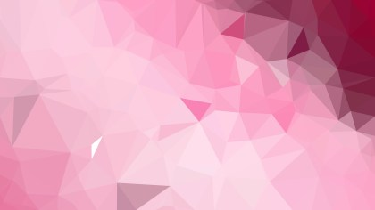 Abstract Light Pink Polygon Background Template