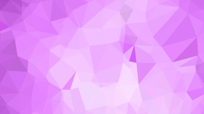 Abstract Light Purple Polygonal Background Template Illustrator