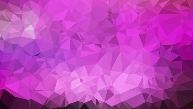 Lilac Polygonal Background Template Vector Graphic