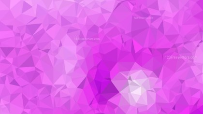 Abstract Lilac Polygon Background