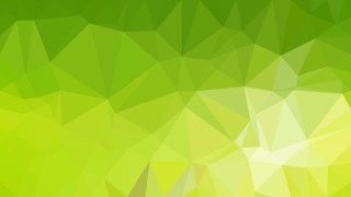 Lime Green Polygonal Abstract Background Design