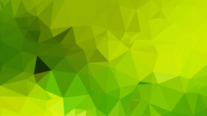 Lime Green Polygon Background Graphic Design