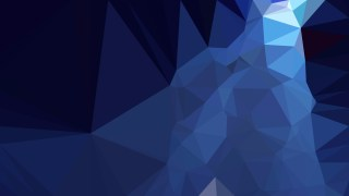 Navy Blue Polygon Pattern Abstract Background Vector Image