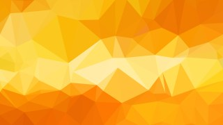 Orange Low Poly Background Design Graphic