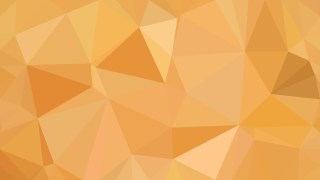 Orange Low Poly Background Template Vector Graphic