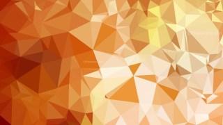 Orange Polygon Triangle Background