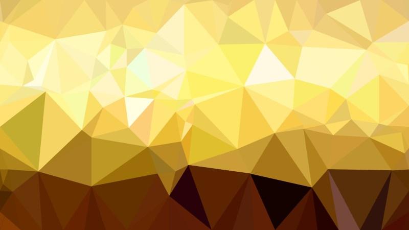 Abstract Orange Polygonal Background Template Illustrator