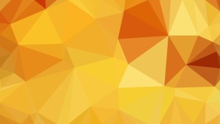 Orange Low Poly Background Design Vector