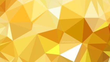 Orange Polygonal Background Design Image