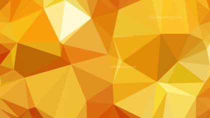 Abstract Orange Polygon Background Graphic Design Vector Image